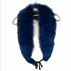 DVF 100% Fox Fur Scarf